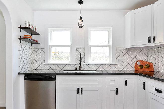 Eclectic Kitchen by Kenihan Development