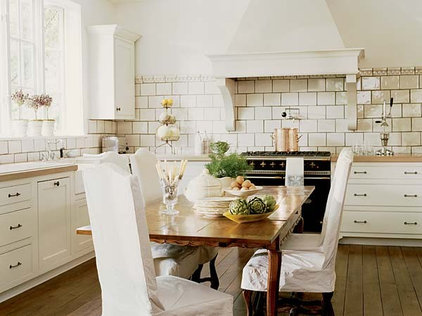 eclectic kitchen by Mary Evelyn Interiors