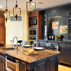 Sunny Tuscan Inspired Kitchen with Beautiful Bronze Accents - Traditional - Kitchen - Raleigh ...