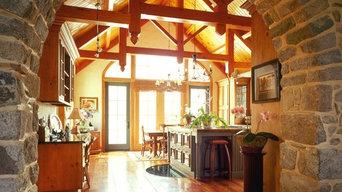 Maryland Kitchen -Timber Framed