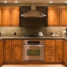 Traditional Kitchen by Capstone Construction of Maryland