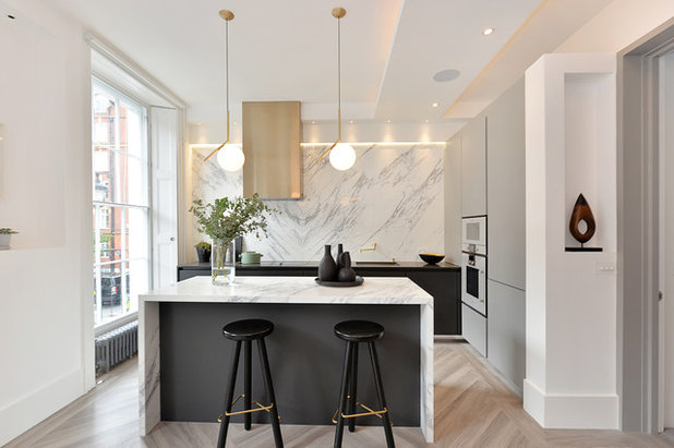 Contemporary Kitchen by Day True Architectural Interiors