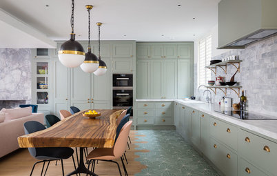 13 Alternatives to Plain Wood Flooring in the Kitchen