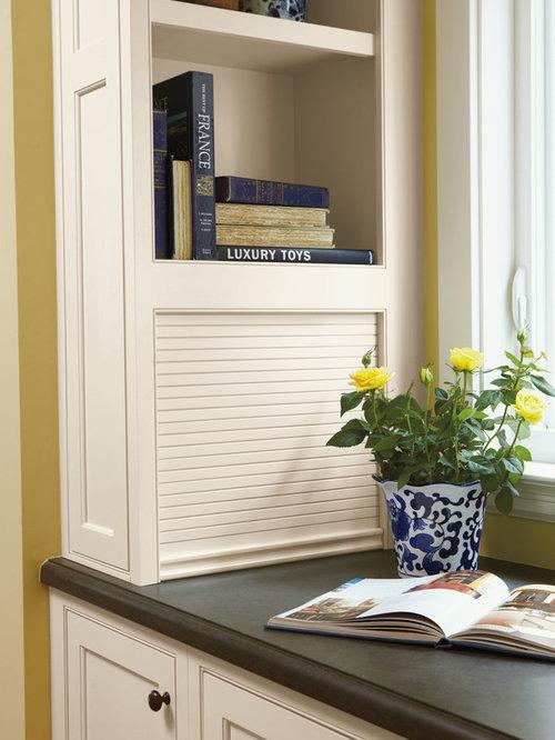 Tambour Door Appliance Garage Home Design Ideas, Pictures ...