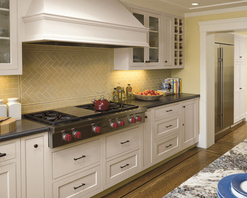 Timeless Backsplash Houzz