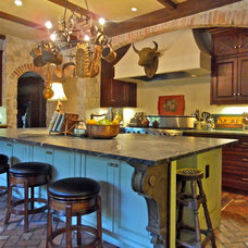 Eclectic Kitchen by Carrie Roby Interiors, LLC