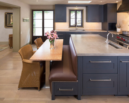 Kitchen Island With Booth Seating island banquette | houzz