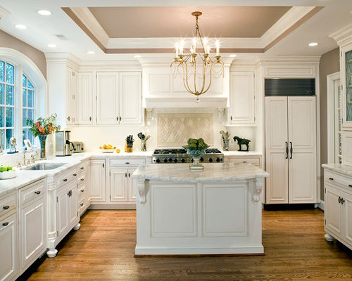 raise kitchen cabinets to ceiling kitchen tray ceiling houzz 7626