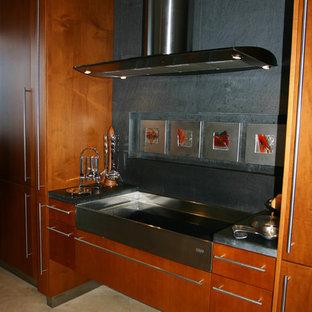 Contemporary kitchen inspiration - Kitchen - contemporary kitchen idea in Other