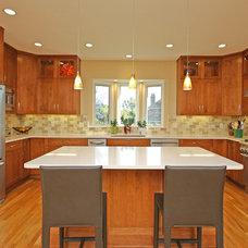 Transitional Kitchen by Kitchens by Ken Ryan