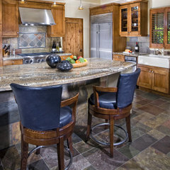 eclectic kitchen by Lori Hollis