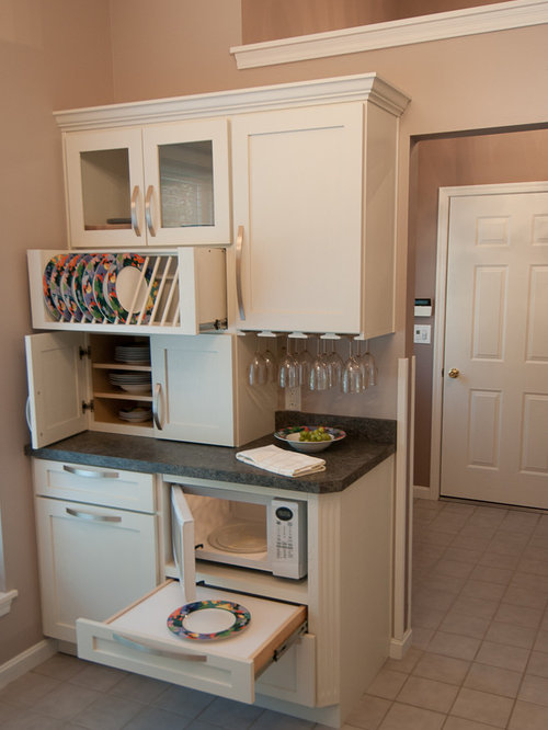 Pull Out Microwave Houzz
