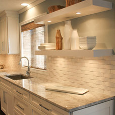Traditional Kitchen by The Affordable Companies