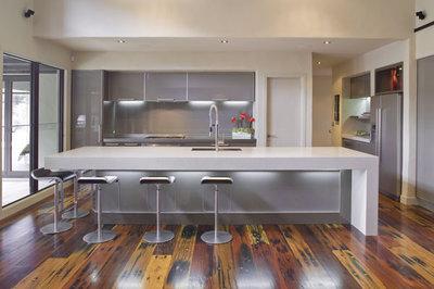Modern Kitchen by Mal Corboy Design