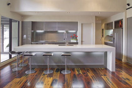 Modern Kitchen by Mal Corboy Design
