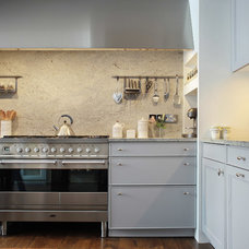 Transitional Kitchen by Alex Maguire Photography