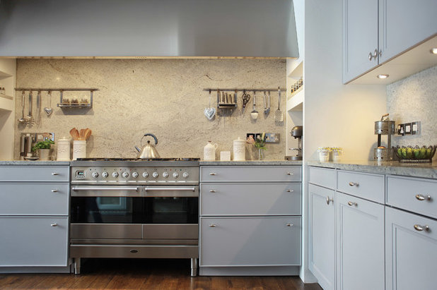 transitional kitchen by alex maguire photography - Granite Countertops With Backsplash