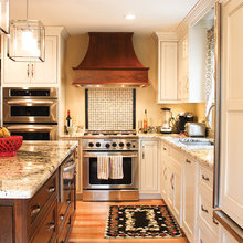 Kitchens with copper
