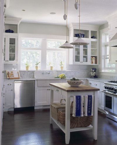 American Traditional Kitchen by Smith River Kitchen & Bath, Inc