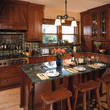Traditional Kitchen by MATTHEW KRIER - Design Group Three - Milwaukee