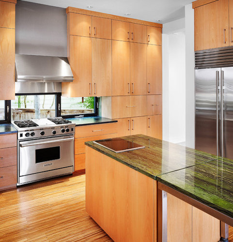 Dark Green Kitchen: Dark Green Granite