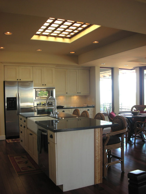 Inspiration For A Tropical Kitchen Remodel In Hawaii With Stainless Steel  Appliances