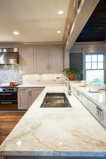 Craftsman Kitchen by Rill Architects