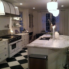 Eclectic Kitchen by Maureen Rivard