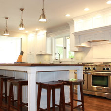 Transitional Kitchen by Mauk Cabinets by Design