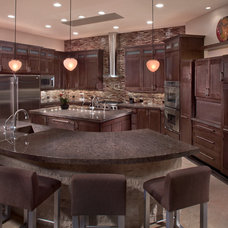 contemporary kitchen by Luster Custom Homes