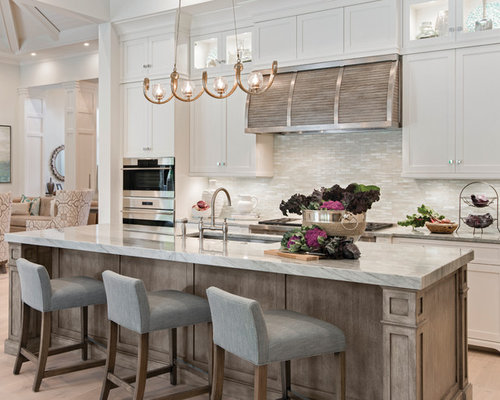 250K Transitional Kitchen Design Ideas & Remodel Pictures | Houzz