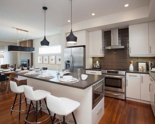 Modern Calgary Kitchen Design Ideas Remodel Pictures Houzz