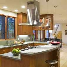 Contemporary Kitchen by Simpson Design Group Architects