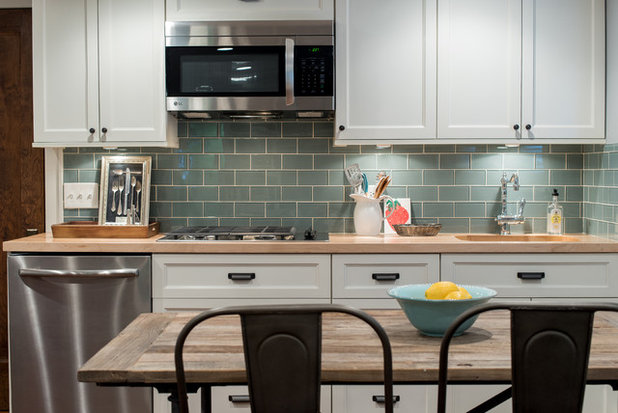 Transitional Kitchen by Foster Hill Design