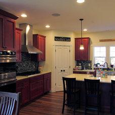 Farmhouse Kitchen by Don R Titus, Residential Designer