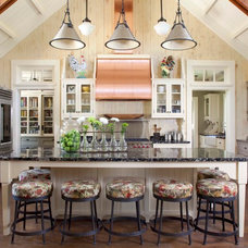 Rustic Kitchen by Ashley Campbell Interior Design