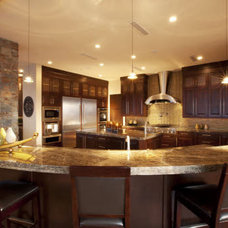 Contemporary Kitchen by Macaluso Designs