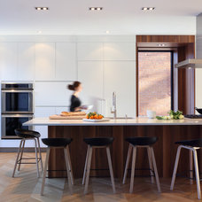 Contemporary Kitchen by Cuisines Steam