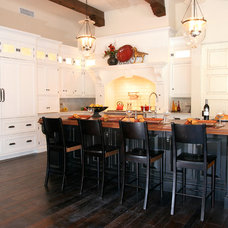Traditional Kitchen by Theresa Franklin, ASID