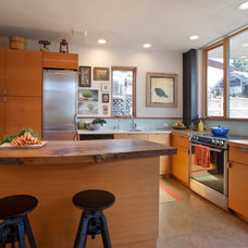 Eclectic Kitchen by Leger Wanaselja Architecture