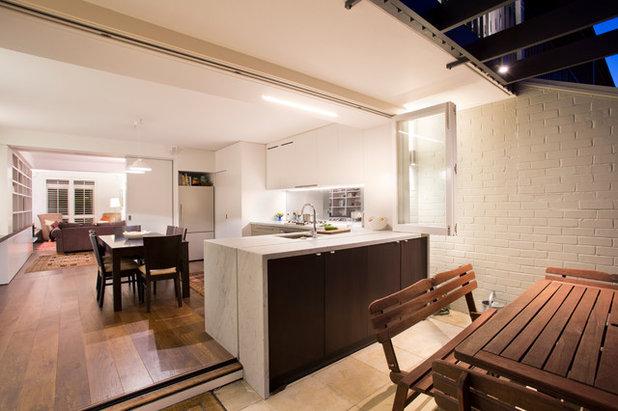 コンテンポラリー キッチン by Danny Broe Architect