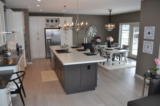 Transitional Kitchen by McGonigal Signature Homes