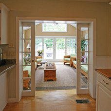 Traditional Kitchen by Woodstock Building Associates, LLC