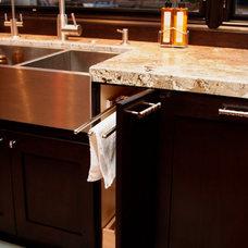 Contemporary Kitchen by Skyline Kitchen & Bath