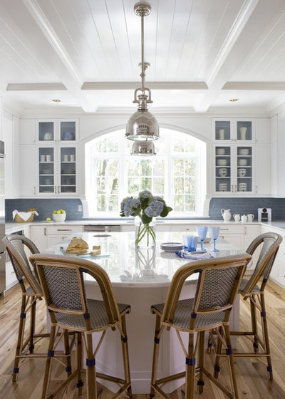 Beach Style Kitchen by celia welch interiors