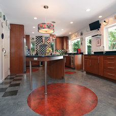 Eclectic Kitchen by Summit Design Remodeling, LLC