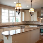Bulter S Pantry With German Silver Sink Traditional