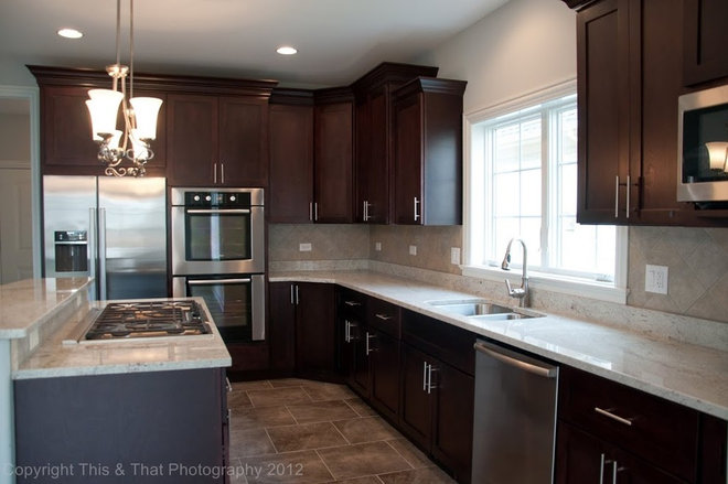 Traditional Kitchen by Choice Cabinet Chicago