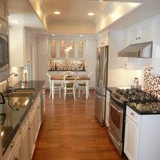 Traditional Kitchen by Spectrum West Interior Design