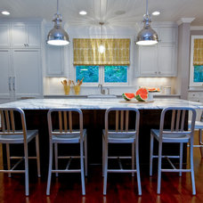 Transitional Kitchen by Martha O'Hara Interiors